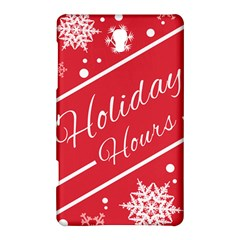 Winter Holiday Hours Samsung Galaxy Tab S (8 4 ) Hardshell Case