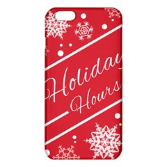 Winter Holiday Hours Iphone 6 Plus/6s Plus Tpu Case