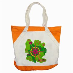 Green navigation Accent Tote Bag