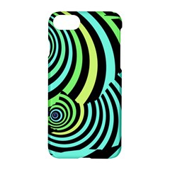 Optical Illusions Checkered Basic Optical Bending Pictures Cat Apple Iphone 7 Hardshell Case