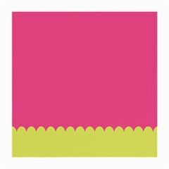 Pink Yellow Medium Glasses Cloth
