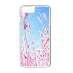 Pink Colour Apple Iphone 7 Plus White Seamless Case