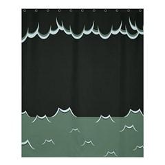 Rain Cloudy Sky Shower Curtain 60  X 72  (medium)