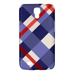 Red And Purple Plaid Samsung Galaxy Mega 6 3  I9200 Hardshell Case