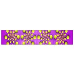 Purple Optical Illusion Wallpaper Flano Scarf (small)