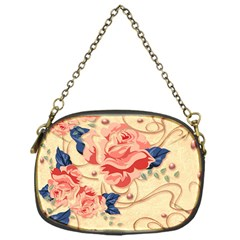 Beautiful Pink Roses  Chain Purses (one Side)