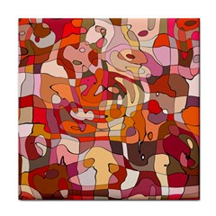 Abstract Abstraction Pattern Moder Tile Coasters