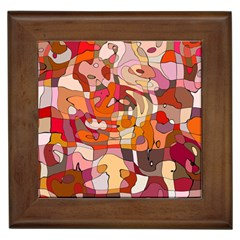 Abstract Abstraction Pattern Moder Framed Tiles