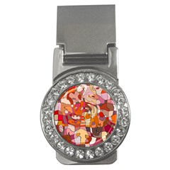 Abstract Abstraction Pattern Moder Money Clips (cz)