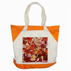 Abstract Abstraction Pattern Moder Accent Tote Bag