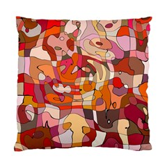 Abstract Abstraction Pattern Moder Standard Cushion Case (two Sides)
