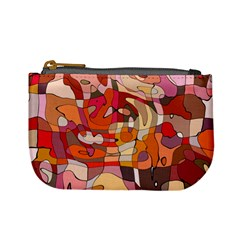 Abstract Abstraction Pattern Moder Mini Coin Purses