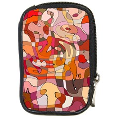 Abstract Abstraction Pattern Moder Compact Camera Cases