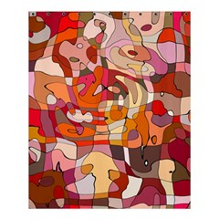 Abstract Abstraction Pattern Moder Shower Curtain 60  X 72  (medium)
