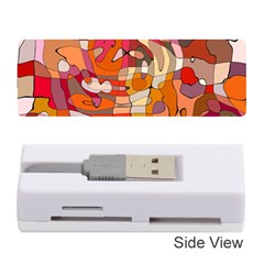Abstract Abstraction Pattern Moder Memory Card Reader (stick)