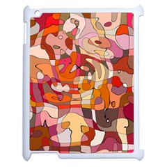 Abstract Abstraction Pattern Moder Apple Ipad 2 Case (white)