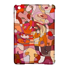 Abstract Abstraction Pattern Moder Apple Ipad Mini Hardshell Case (compatible With Smart Cover)