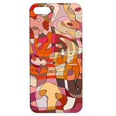 Abstract Abstraction Pattern Moder Apple Iphone 5 Hardshell Case With Stand