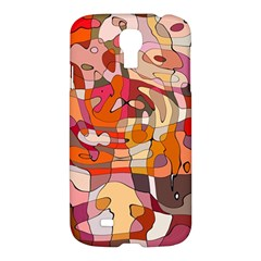 Abstract Abstraction Pattern Moder Samsung Galaxy S4 I9500/I9505 Hardshell Case