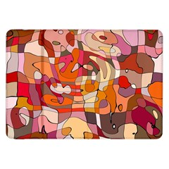Abstract Abstraction Pattern Moder Samsung Galaxy Tab 8 9  P7300 Flip Case