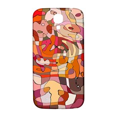 Abstract Abstraction Pattern Moder Samsung Galaxy S4 I9500/i9505  Hardshell Back Case