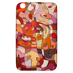 Abstract Abstraction Pattern Moder Samsung Galaxy Tab 3 (8 ) T3100 Hardshell Case