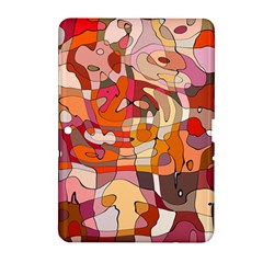 Abstract Abstraction Pattern Moder Samsung Galaxy Tab 2 (10 1 ) P5100 Hardshell Case