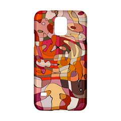 Abstract Abstraction Pattern Moder Samsung Galaxy S5 Hardshell Case