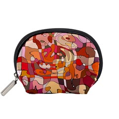 Abstract Abstraction Pattern Moder Accessory Pouches (small)