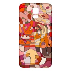 Abstract Abstraction Pattern Moder Samsung Galaxy S5 Back Case (white)