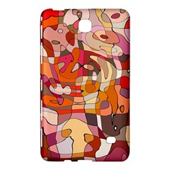 Abstract Abstraction Pattern Moder Samsung Galaxy Tab 4 (8 ) Hardshell Case