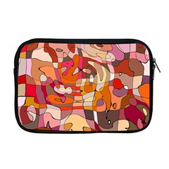 Abstract Abstraction Pattern Moder Apple Macbook Pro 17  Zipper Case