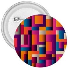 Abstract Background Geometry Blocks 3  Buttons