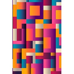 Abstract Background Geometry Blocks 5 5  X 8 5  Notebooks