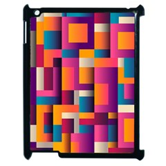 Abstract Background Geometry Blocks Apple Ipad 2 Case (black)