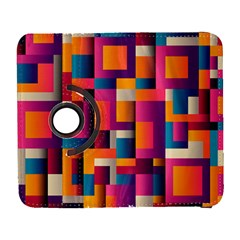 Abstract Background Geometry Blocks Galaxy S3 (flip/folio)