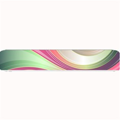 Abstract Colorful Background Wavy Small Bar Mats