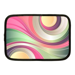 Abstract Colorful Background Wavy Netbook Case (Medium)