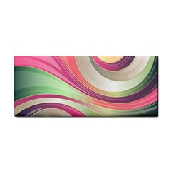 Abstract Colorful Background Wavy Cosmetic Storage Cases