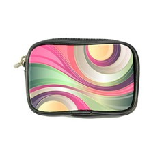 Abstract Colorful Background Wavy Coin Purse
