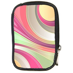 Abstract Colorful Background Wavy Compact Camera Cases