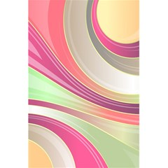 Abstract Colorful Background Wavy 5 5  X 8 5  Notebooks