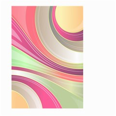 Abstract Colorful Background Wavy Large Garden Flag (two Sides)