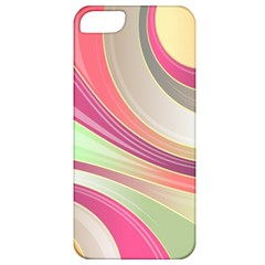 Abstract Colorful Background Wavy Apple Iphone 5 Classic Hardshell Case