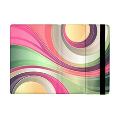 Abstract Colorful Background Wavy Apple Ipad Mini Flip Case