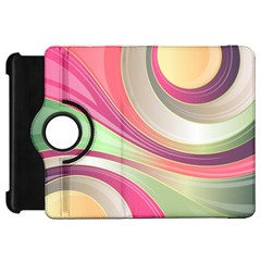 Abstract Colorful Background Wavy Kindle Fire Hd 7