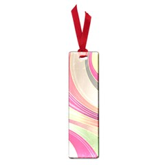 Abstract Colorful Background Wavy Small Book Marks