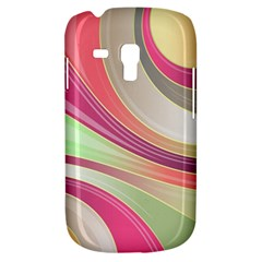 Abstract Colorful Background Wavy Galaxy S3 Mini