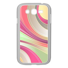 Abstract Colorful Background Wavy Samsung Galaxy Grand Duos I9082 Case (white)