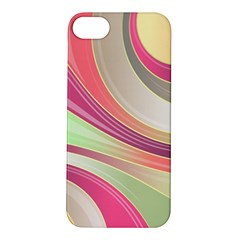 Abstract Colorful Background Wavy Apple Iphone 5s/ Se Hardshell Case